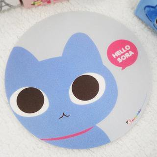 YESSTYLE: iswas- Cat Print Mouse Pad - Free International Shipping on orders over $150
