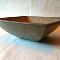 Concrete Bowl - Grey - Minimalist - Taper