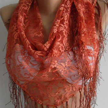 Copper Color /Scarf-