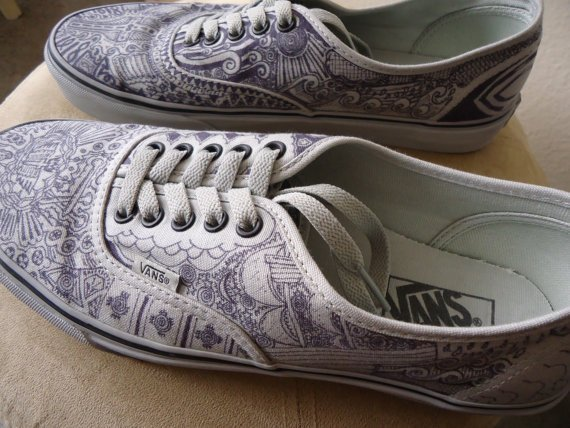 Custom Vans Shoes 1