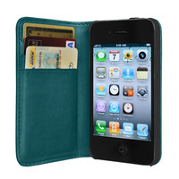 Hex Code Wallet / iPhone Case - Teal