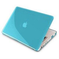 Blue Hard Shell Case Compatible With 13-Inch Macbook® Pro, W/ Free Sky Blue Keyboard Skin