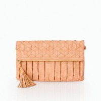 Out Tonight Clutch in Ginger- ShopSosie.com