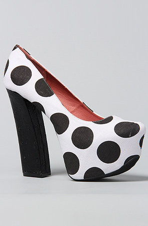 The Anne XXXIV in Black Polka Dot