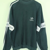 Forest Green Adidas Sweatshirt
