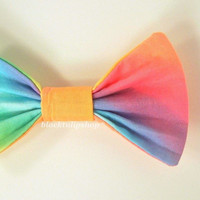 Fairy Kei Rainbow Hair Bow/Barrette/Clip : Pick - A - Bow