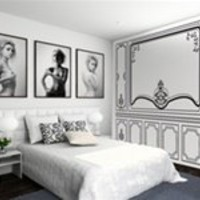 Wall Decals Baroque Molding- WALLTAT.com Art Without Boundaries