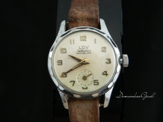 LOV Selection wrist watch from the 50s