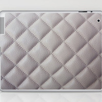 Fashionista in beige Laptop & iPad Skin by CMcDonald | Society6