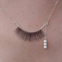 catbird :: shop by category :: Jewelry :: Single Eyelash Necklace