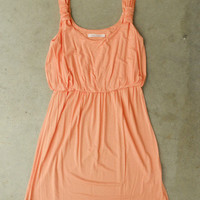 A Lovely Summer Dress in Apricot [3155] - $32.00 : Vintage Inspired Clothing & Affordable Summer Dresses, deloom | Modern. Vintage. Crafted.