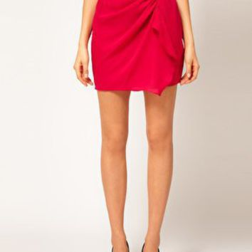 ASOS Skirt With Wrap at asos.com