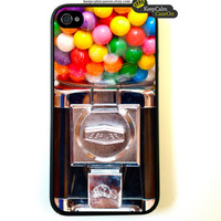 Iphone 4 Case Gumball Machine iPhone 4S Case