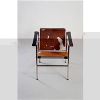 LC1 Pony Cowhide Skin Lounge Chair, Modern Lounge Chair, Contemporary Lounge Chair: Nyfurnitureoutlets.com