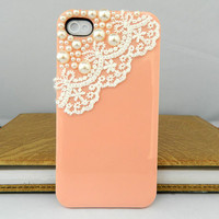 Lace Style iPhone case iPhone 4 case iPhone 4s case iPhone cover Multiple color choices