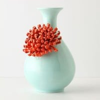 Curvy Chrysanthemum Vase-Anthropologie.com