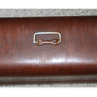 Vintage Sewing Machine Bent Wood Dome Case Top Only