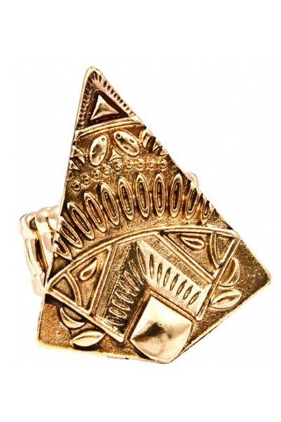 Miss Moody Gold Cleopatra Ring