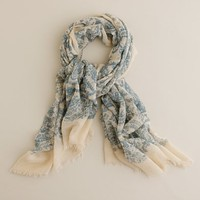 Women's accessories - hats & scarves - Paisley wool scarf - J.Crew