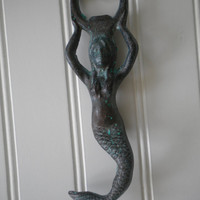 Mermaid Bottle Opener - Cast Iron
