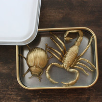 Fun Gold Insect Magnets