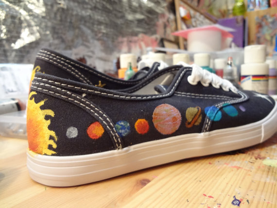 Solar System in a Shoe - Pics about space