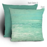 DENY Designs Home Accessories | Lisa Argyropoulos Where Ocean Meets Sky Throw Pillow