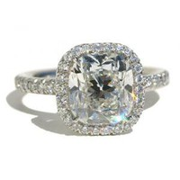 Cut 3.22ct Diamond Ring