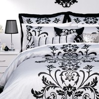 Anastasia Silver Quilt Cover by Platinum Collection - Quilt & Doona Covers - Bed Linen