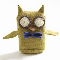 Free Knitting Pattern Wise Owl Toy review at Kaboodle