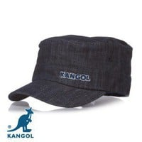 Kangol Denim Army Cap - Indigo