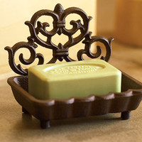 Ornato Iron Soap Dish - NapaStyle