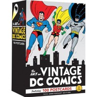 The Art of Vintage DC Comics: 75th Anniversary - Whimsical & Unique Gift Ideas for the Coolest Gift Givers