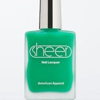 Sheer Nail Polish | New & Now Beauty & Grooming | American Apparel