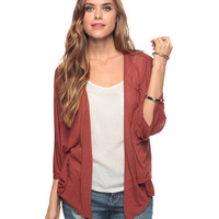 Dolman Sleeve Cardigan