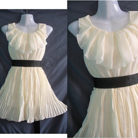 Angle Chiffon Party Dress - Romantic Ruffle Cocktail Dress - Sweet Little Girl Bridesmaid Dress