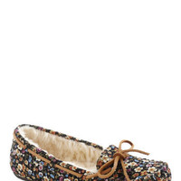Meadow at Midnight Slipper | Mod Retro Vintage Flats | ModCloth.com