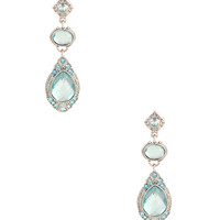 Sparkling Chandelier Earrings