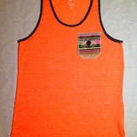 Tuanis — Summer Collection Tank Top - Neon Orange