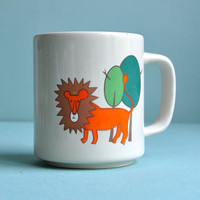 Mod Lion Mug