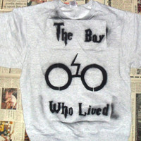 SALE The Boy Who Lived Crewneck Sweater (Sizes: S / M / L)