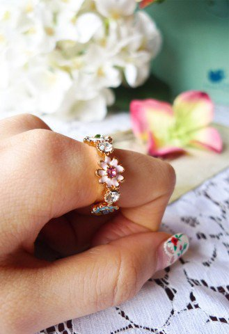 Daisy Days Ring - Accessory - Retro, Indie and Unique Fashion