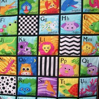 Alphabet Colorful Quilted Wall Hang.. on Luulla