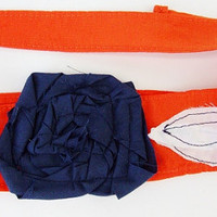 Orange and Blue Headband, University of Texas San Antonio, UTSA, Florida Gators, Syracuse