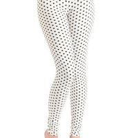Pattern of Perfection Leggings | Mod Retro Vintage Tights | ModCloth.com