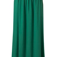 Green Maxi Skirt - New In This Week - New In - Topshop USA