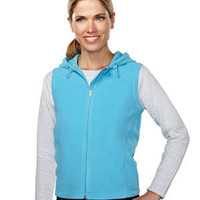 Sleeveless Hooded Jacket | Buy Women's Fleece Sleeveless Hooded Jacket