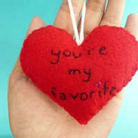 Handmade Heart Ornament You're My F.. on Luulla
