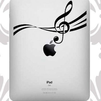 Ipad Decal - Music Notes UK WAB Tea.. on Luulla
