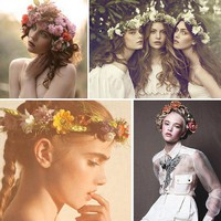 Flower-head Portraits